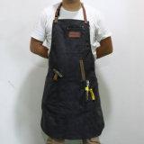 Персонализированные таможней общего назначения прованские рисбермы плотника холстины с кожаный планкой