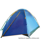 Tenda di campeggio a un solo strato di Domepack delle 3 persone con l'estensione