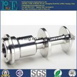 Usinage CNC personnalisé de haute précision Montage en tuyau métallisé chromé