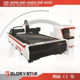 Machine de découpage de laser en métal de fibre pour le traitement de couvercle en métal