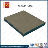 마포 저항하는 티타늄 입히는 관판/Bimetalic 티타늄 합금 관