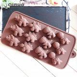 Nahrungsmittelgrad-haltbare Silikon-Schokoladen-Silikon Bakeware Form 100%