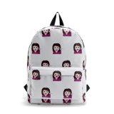 A venda quente Emoji ensaca a trouxa para a forma relativa à promoção Backpackyf-Lb1700 da escola do portátil do ombro da bolsa