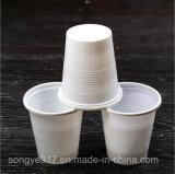 Wegwerfplastikcup 16 0z des WEISS-pp. ohne Schutzkappen-und Plastikcup
