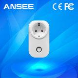 EUの世帯装置を制御する標準スマートな無線パワーアウトレットスイッチ