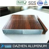 Formato di colore personalizzato profilo di alluminio di legno di alluminio del grano del Governo della mobilia