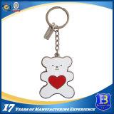 Metal encantador Keychain do urso com esmalte (Ele-K003)