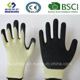 Перчатки латекса, перчатки работы безопасности (SL-R507)