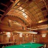 Telhas de painel de teto de madeira de estilo americano (GSP11-014)