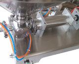 Máquina de etiquetado semi automática de la máquina de rellenar del polvo