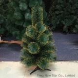 Nuevo árbol de navidad verde y de oro del color 60cm/25t