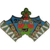 カスタム金属のロゴの多彩で堅いエナメルのバッジ