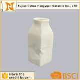 Venta al por mayor de cerámica de la botella del esmalte blanco del nuevo producto