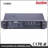 Amplificador de potencia de dos canales 800W del sistema PA de CH800 para la venta
