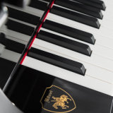 Piano vertical Ka-125f, piano negro de la fábrica de China