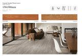 Telha ao ar livre do olhar de madeira do material de construção