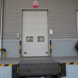 Portello sezionale automatico usato industriale ad alta velocità