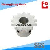 Weißes anstreichendes Pumb Standardaktien-Rollen-Ketten-Bewegungskettenrad Soem-
