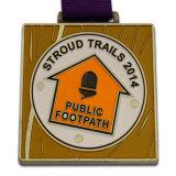 medaglia promozionale del premio del metallo del regalo 3D che impacca la casella di presentazione Pendant