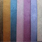 Farben-Änderung PU-Leder für Bucheinbänd Hw-140928
