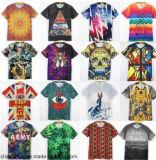 2017 kundenspezifisches Drucken-Mann-T-Shirt mit Baumwoll-oder Polyester-Gewebe