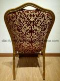 金フレームの鋼鉄宴会はスタック可能教会椅子の議長を務める