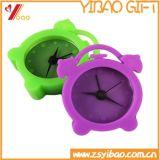 Regalos de promoción multicolor Mini precioso silicona Reloj despertador