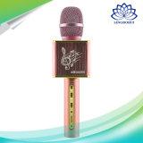 Bewegliches Bluetooth drahtloses Stereomikrofon mit Lautsprecher