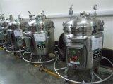 Grau Alimentício química do tanque de mistura móvel