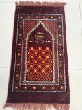 연약한 고품질 물자 회교도 기도 매트 인쇄