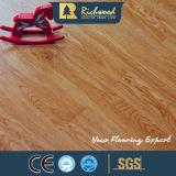 Eichen-hoher Glanz lamellierter lamellenförmig angeordneter hölzerner Bodenbelag der Walnuss-12.3mm