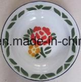 Plaque de riz d'émail/plaque de potage