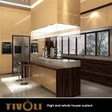 최고 디자인 부엌 찬장 전체적인 집 가구 제조업 고품질 내각 제작자 Tivo-066VW
