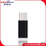 Línea de datos de Smart Phone adaptador micro USB con capa de metal.