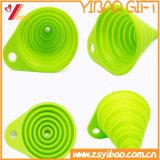 Articolo da cucina facile pulire il cestino di scolo del silicone con imbuto (YB-HR-23)