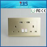 2 de ElektroAfzet van de troep met Britse Contactdoos met USB