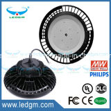 FCC-Cer EMC-LVD RoHS IP67 Meanwell Fahrer-80With100With150With200With240W industrielles Licht DES UL-Dlc Krater Dimmable UFO-LED