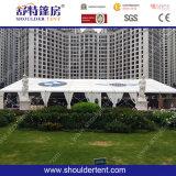 Tente en aluminium de chapiteau de PVC de grande envergure claire pour l'exposition juste