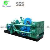 Compresor industrial de enfriamiento gas-aire del aumentador de presión del gas del pantano