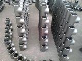 De Montage van de Pijp van het T-stuk van het roestvrij staal, van de Olie en van het Gas