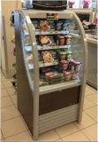 슈퍼마켓 음료를 위한 수직 에어 커튼 야외 상인 진열장