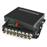 Video Kanal-Faser-Optikvideodem konverter zu des Faser-Konverter-8