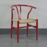 고아한 Retro 작풍 금속 식사를 위한 프레임에 의하여 길쌈되는 밧줄 Y 자형 뼈 Y 의자 (SP-LC289)