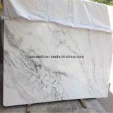 Сляб нового снежка белые мраморный, плитка пола и мрамор для домашнего украшения &Project