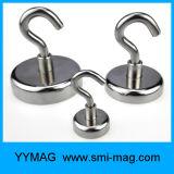 Ganchos magnéticos do potenciômetro forte super do Neodymium para multi interno/ao ar livre