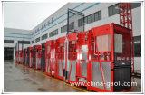 Gaoli Sc200/200 heiße Verkaufs-Aufbau-Aufzug-Hebevorrichtung im niedrigen Preis