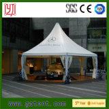 Tienda de aluminio incombustible impermeable de la pagoda para el servicio médico al aire libre