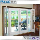 Aluminium eingehängte Tür/Aluminiumflügelfenster-Tür für Badezimmer