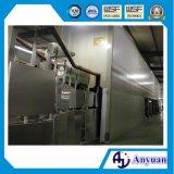 Linha de revestimento do pó para o radiador de alumínio com alta qualidade