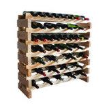 商業木のワインのビール瓶のホールダーラック棚付け